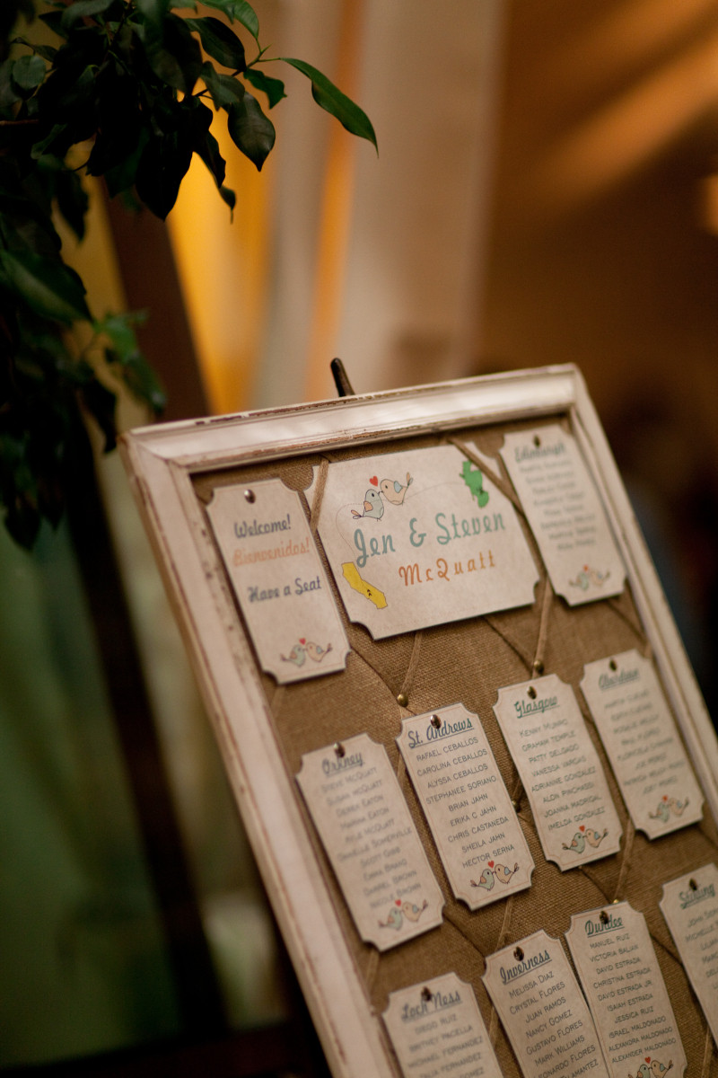 Best ideas about DIY Wedding Seating Chart . Save or Pin DIY Wedding Seating Chart Now.