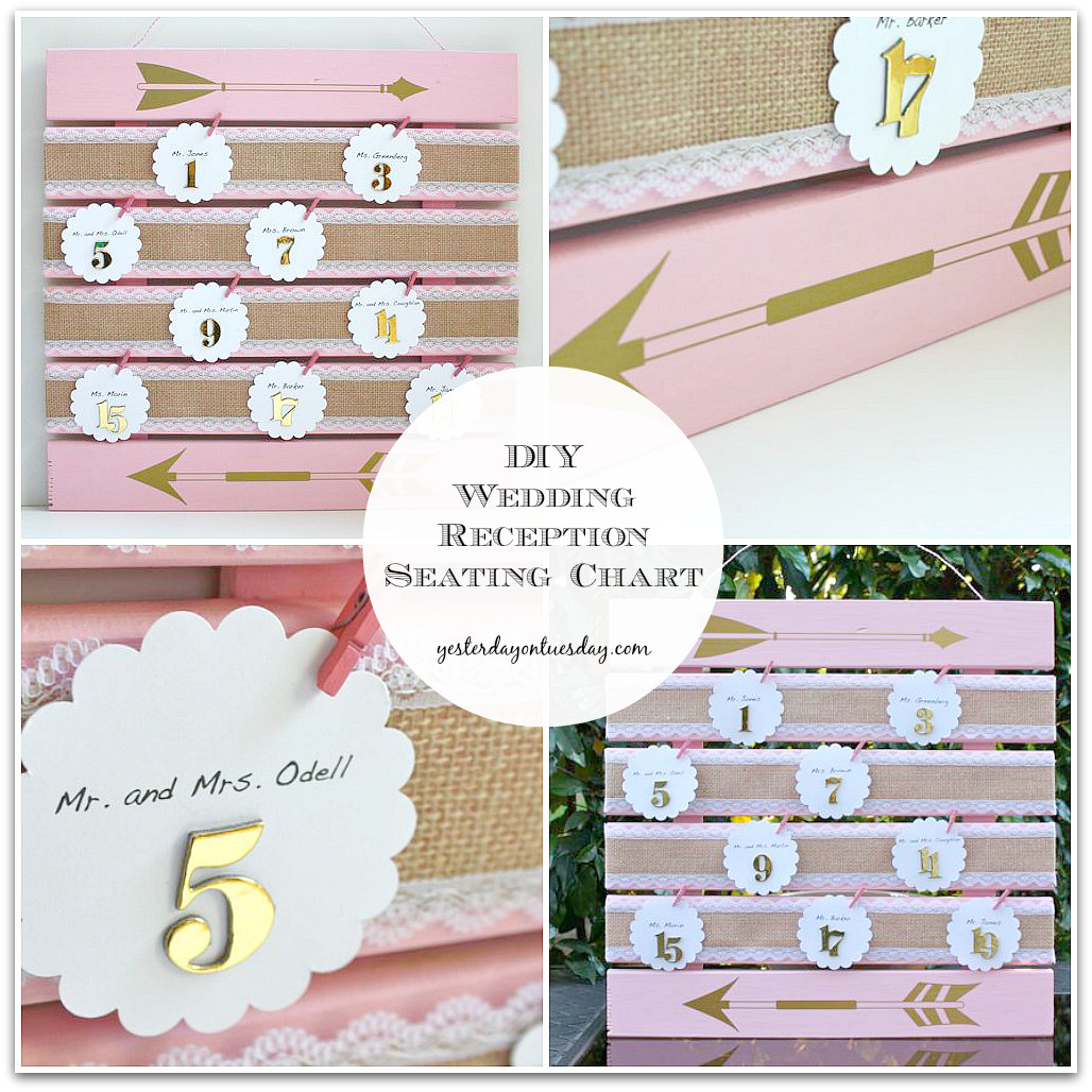 Best ideas about DIY Wedding Seating Chart . Save or Pin Wedding Reception Seating Chart Now.