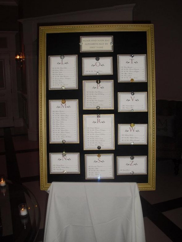 Best ideas about DIY Wedding Seating Chart . Save or Pin DIY Seating Chart Now.