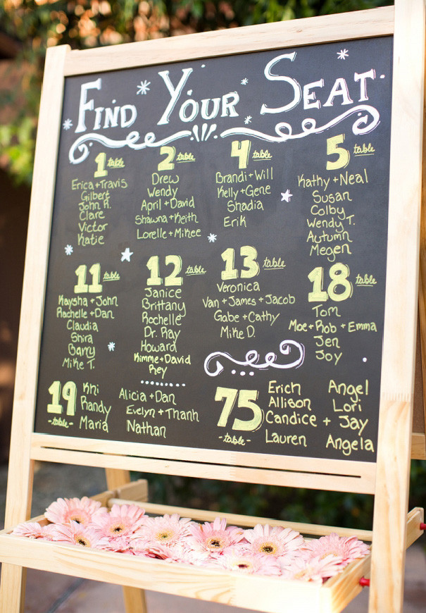 Best ideas about DIY Wedding Seating Chart . Save or Pin Hello May · THERE'S AN IDEA SEATING CHARTS Now.
