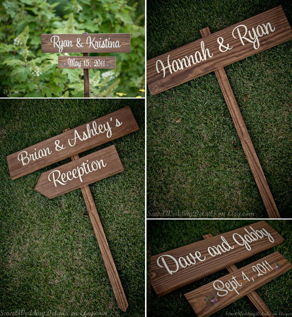 Best ideas about DIY Wedding Signage . Save or Pin A DIY Bride Hand Painted Wedding Signs Now.