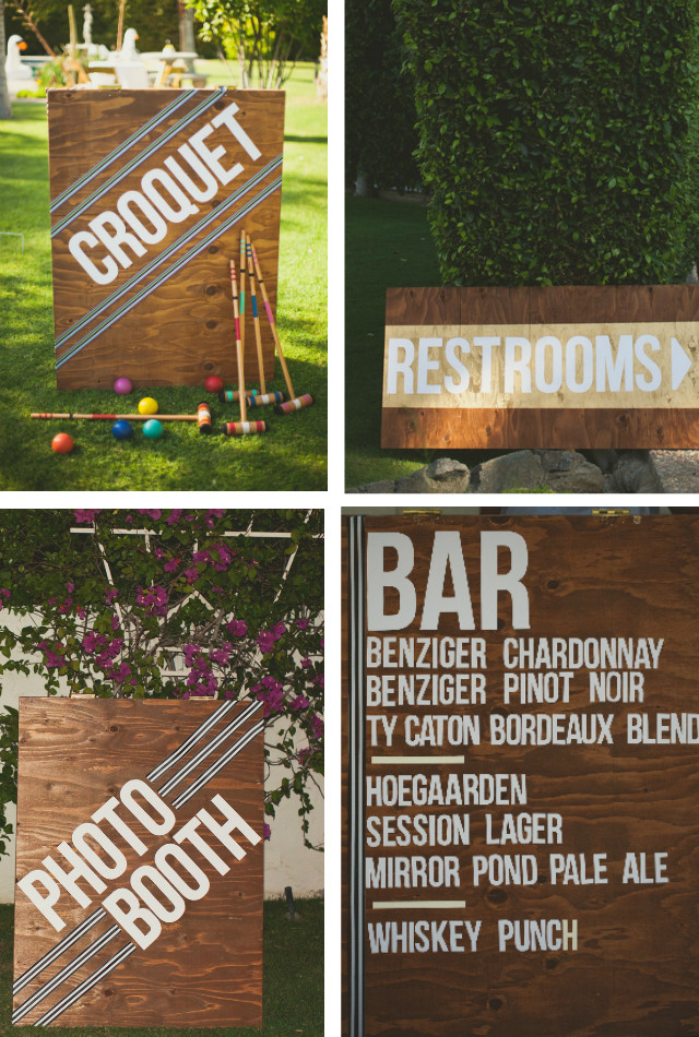 Best ideas about DIY Wedding Signage . Save or Pin 10 Creative DIY Wedding Signs Now.