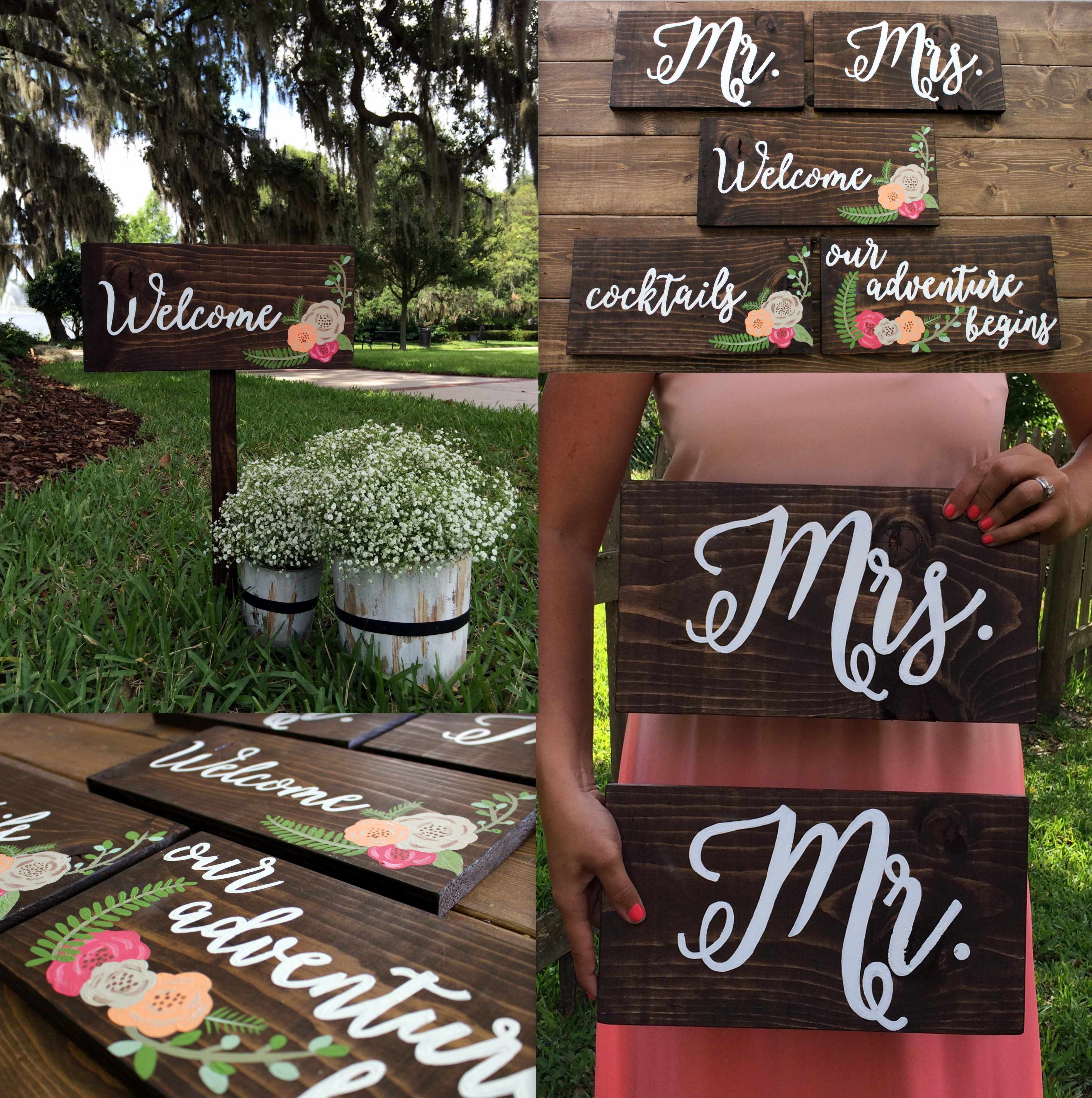 Best ideas about DIY Wedding Signage . Save or Pin DIY Calligraphy Wedding Signs Now.