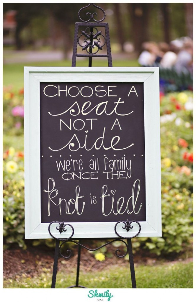 Best ideas about DIY Wedding Signage . Save or Pin 10 Most Darling DIY Wedding Signs from WeddingMix Now.