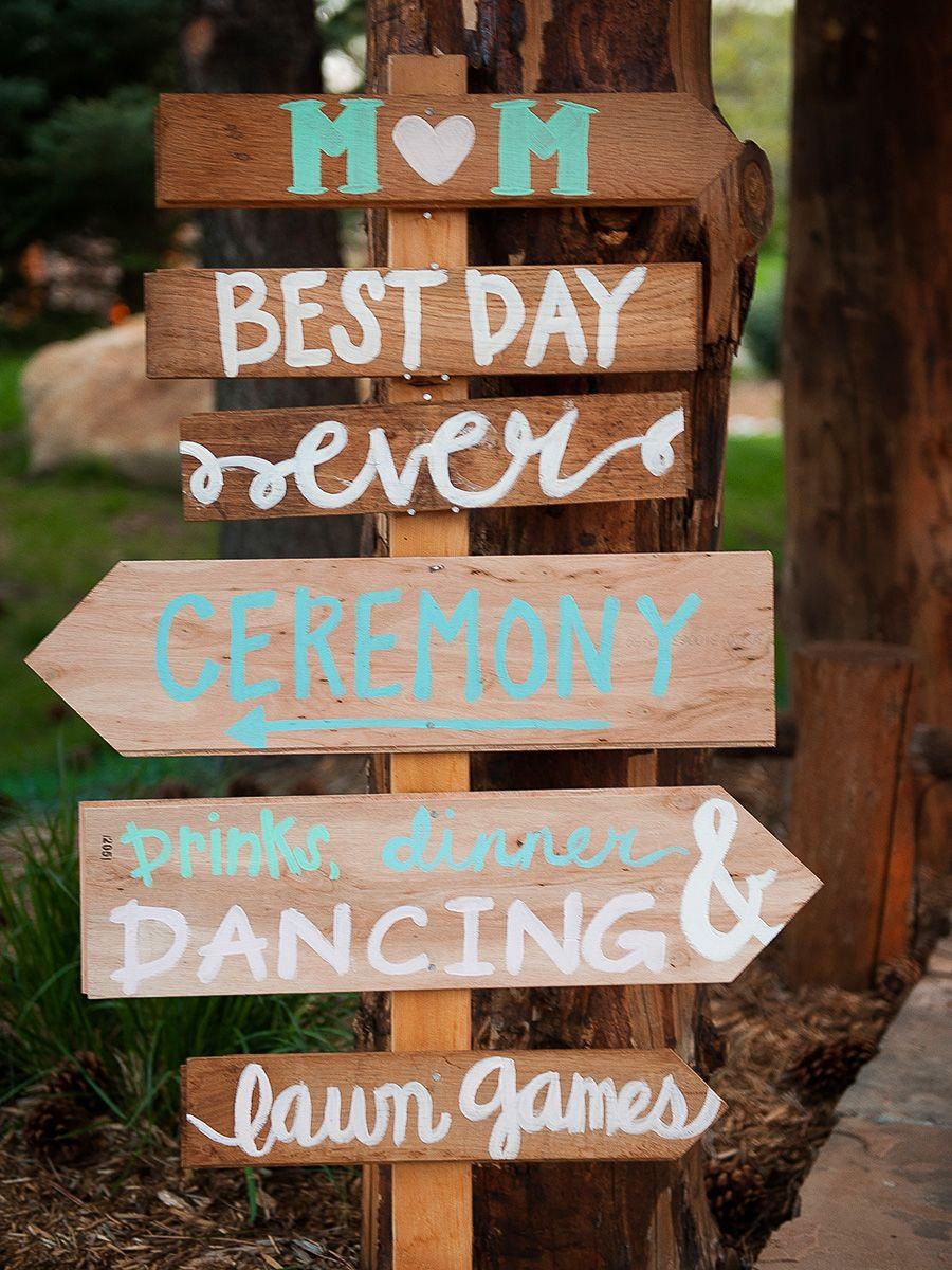Best ideas about DIY Wedding Signage . Save or Pin 21 Pretty DIY Wedding Signs Now.