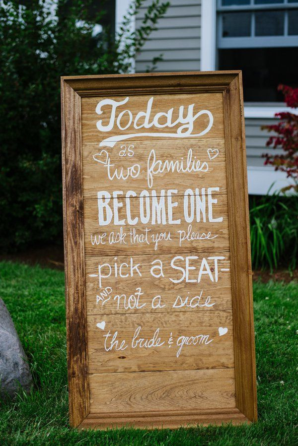 Best ideas about DIY Wedding Signage . Save or Pin 974 best images about Rustic Wedding Signs on Pinterest Now.
