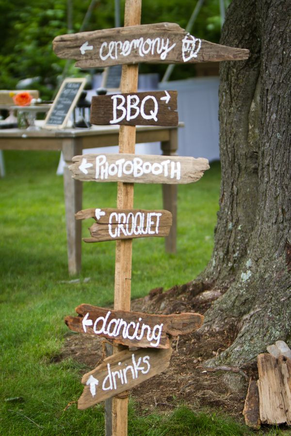 Best ideas about DIY Wedding Signage . Save or Pin DIY Pink Red BBQ Picnic Summer Wedding in Maryland Now.