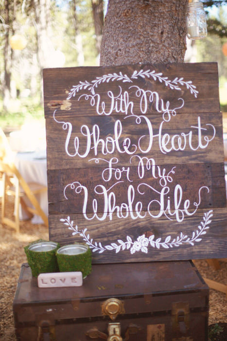 Best ideas about DIY Wedding Signs . Save or Pin 20 Wedding Signs We Love Now.
