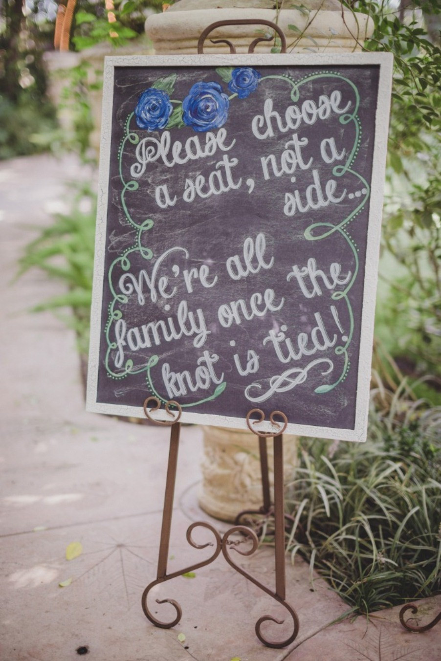 Best ideas about DIY Wedding Signs . Save or Pin DIY Chalkboard Wedding Signs A Simple Hack Miss Bizi Bee Now.