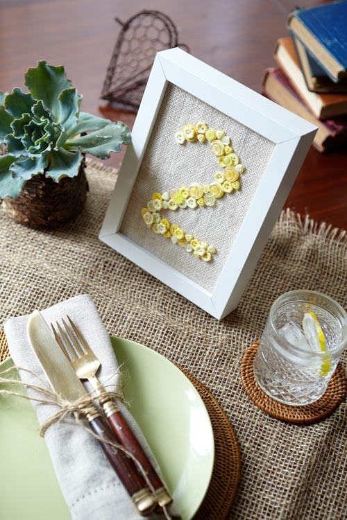 Best ideas about DIY Wedding Table Numbers . Save or Pin DIY Wedding Table Numbers Modern Wedding Now.