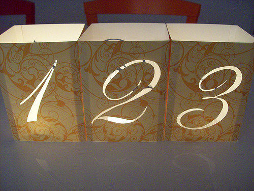 Best ideas about DIY Wedding Table Numbers . Save or Pin Wedding Table Numbers with Illuminated Numbers and Now.