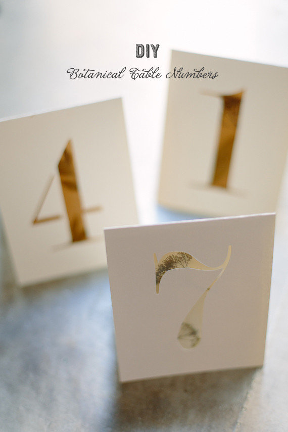 Best ideas about DIY Wedding Table Numbers . Save or Pin DIY botanical table numbers Now.