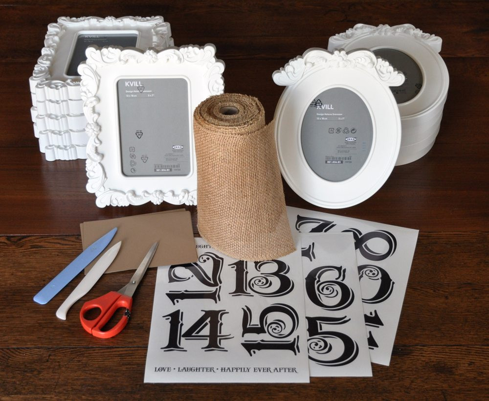 Best ideas about DIY Wedding Table Numbers . Save or Pin DIY Centrepieces That You Can Create With Almost No Effort Now.