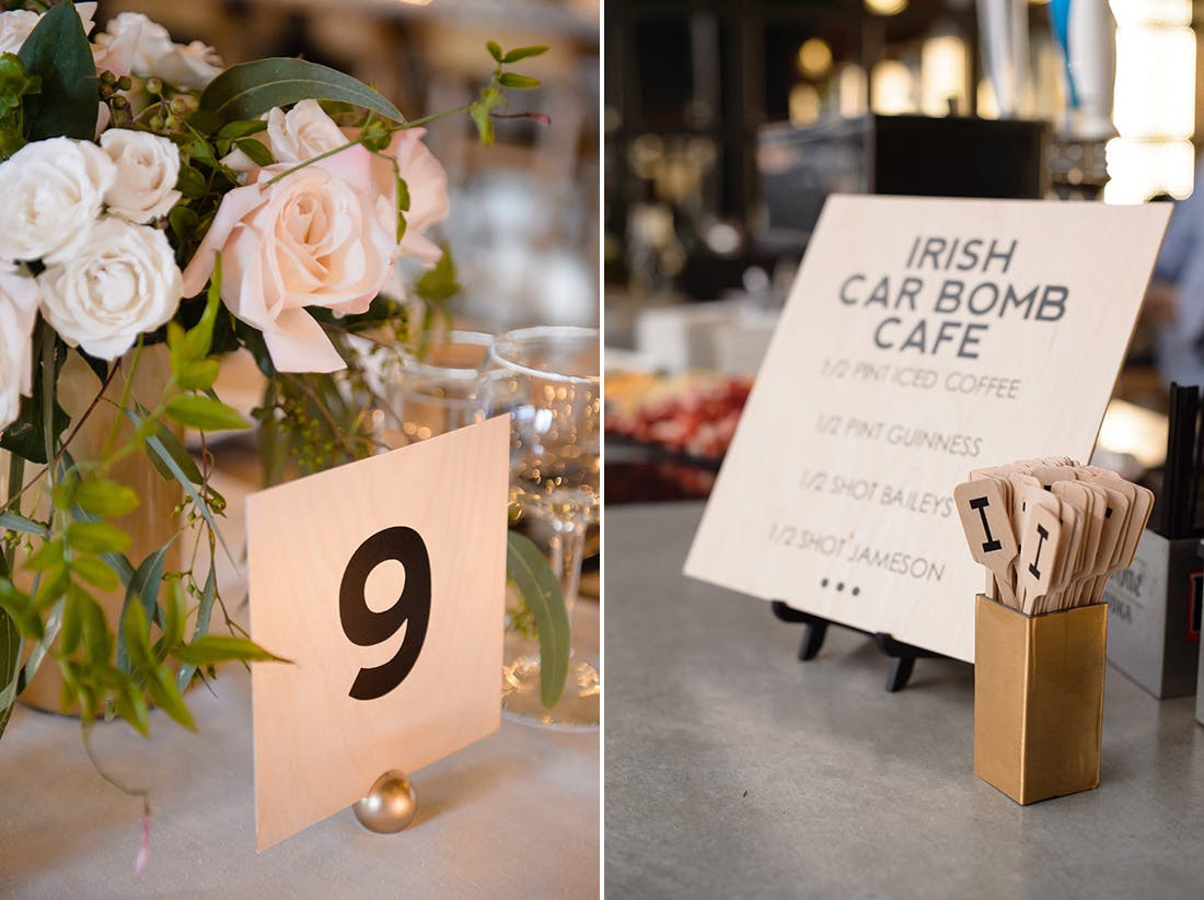 Best ideas about DIY Wedding Table Numbers . Save or Pin DIY Weddings A Blogger's Elegant Industrial Affair Now.