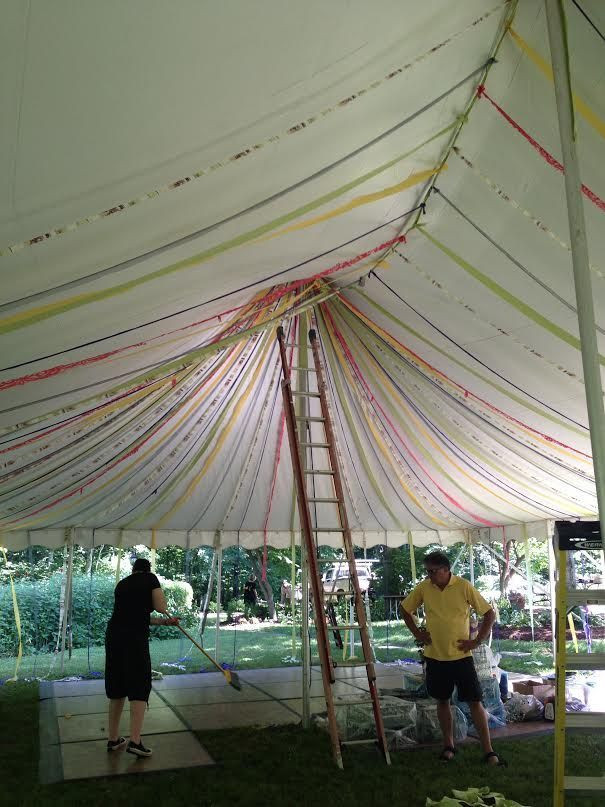 Best ideas about DIY Wedding Tent . Save or Pin DIY Tent Decoration for Your Wedding Reception Now.