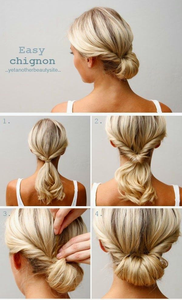 Best ideas about DIY Wedding Updo . Save or Pin 20 DIY Wedding Hairstyles with Tutorials to Try on Your Now.