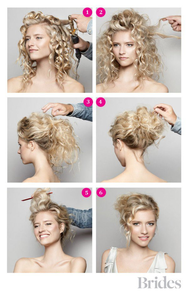 Best ideas about DIY Wedding Updo . Save or Pin Fashionable Updo Hairstyle Tutorial Now.