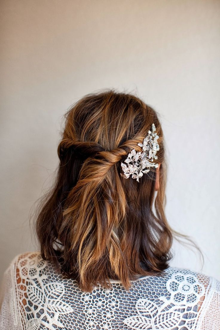 Best ideas about DIY Wedding Updo . Save or Pin Best 25 Medium length bridal hair ideas on Pinterest Now.