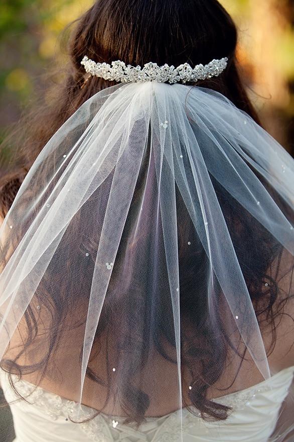 Best ideas about DIY Wedding Veil . Save or Pin Disney Wedding Inspiration DIY Rhinestone Mickey Veil Now.