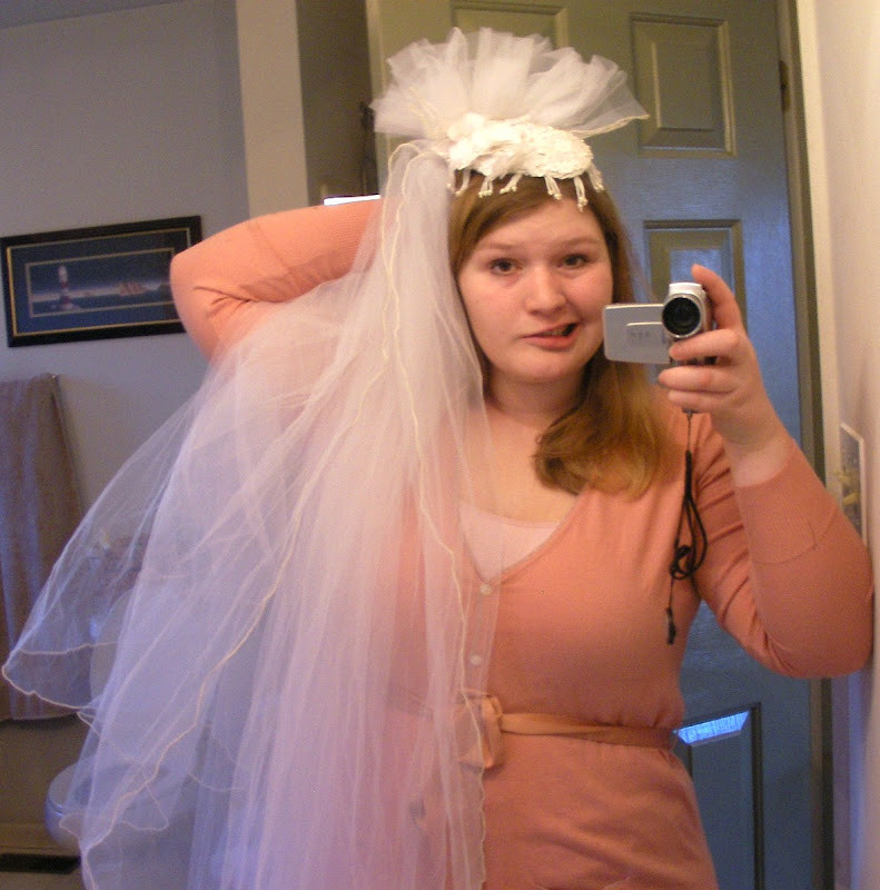 Best ideas about DIY Wedding Veil . Save or Pin DIY Wedding Veil Repurpose Two Old Veils My Girlish Whims Now.