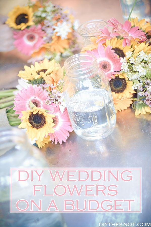 Best ideas about DIY Weddings On A Budget . Save or Pin diy wedding flowers on a bud Now.