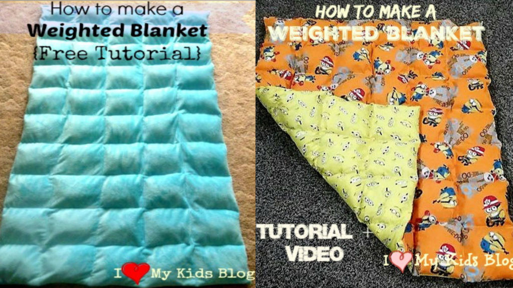 Best ideas about DIY Weighted Blanket Kit . Save or Pin How to make a Weighted Blanket A DIY Video Tutorial to do Now.