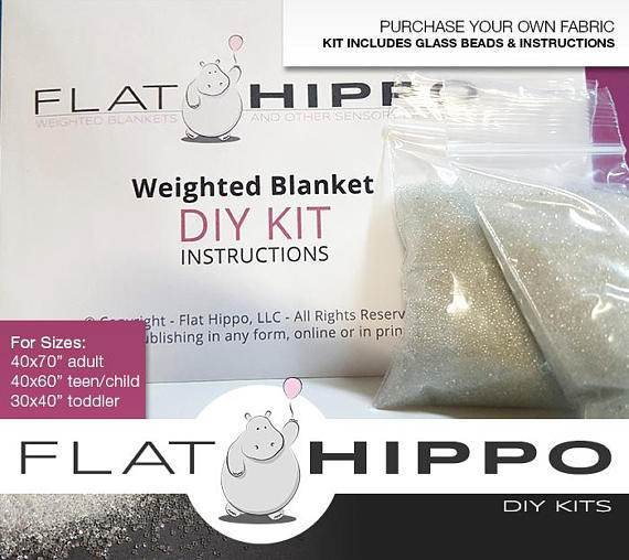 Best ideas about DIY Weighted Blanket Kit . Save or Pin DIY Weighted Blanket Kit Pick Your Weight Step by Step Now.