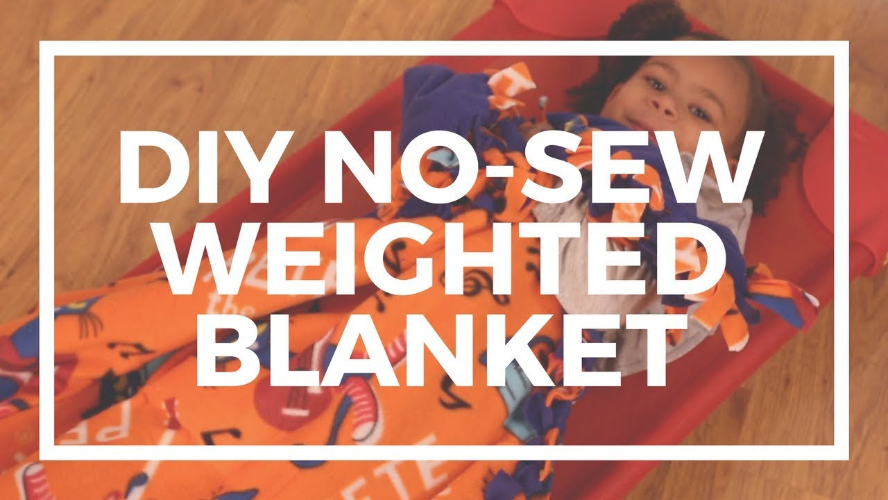 Best ideas about DIY Weighted Blanket Kit . Save or Pin DIY No Sew Weighted Blanket Now.