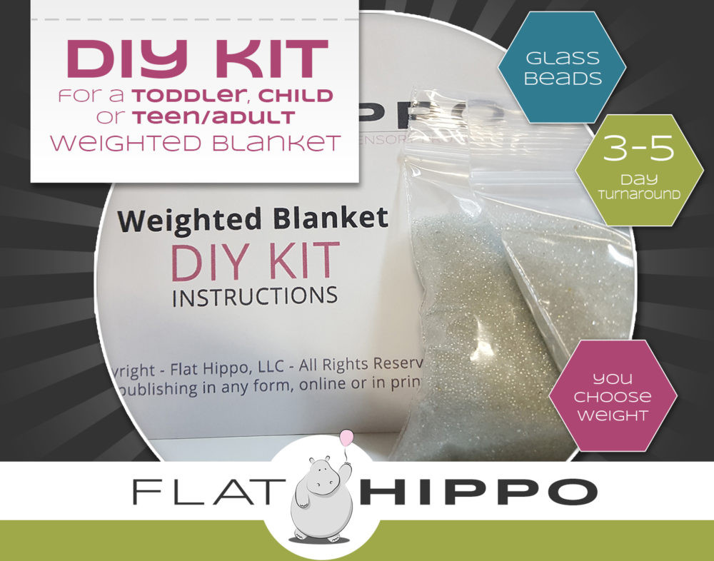 Best ideas about DIY Weighted Blanket Kit . Save or Pin DIY Weighted Blanket Kit Toddler Child or Teen Adult Now.