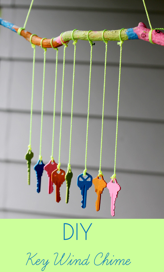 Best ideas about DIY Wind Chimes For Kids . Save or Pin Recycled Crafts for Kids DIY Key Wind Chime Inner Child Now.