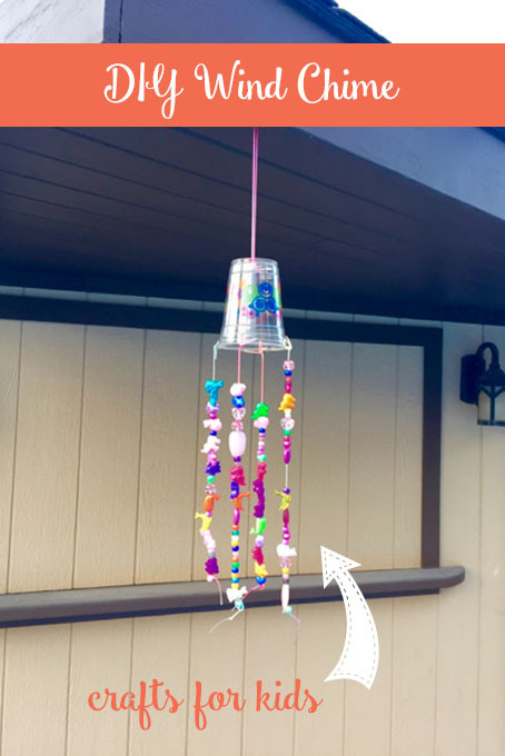Best ideas about DIY Wind Chimes For Kids . Save or Pin DIY Beaded Wind Chime • The Inspired Home Now.