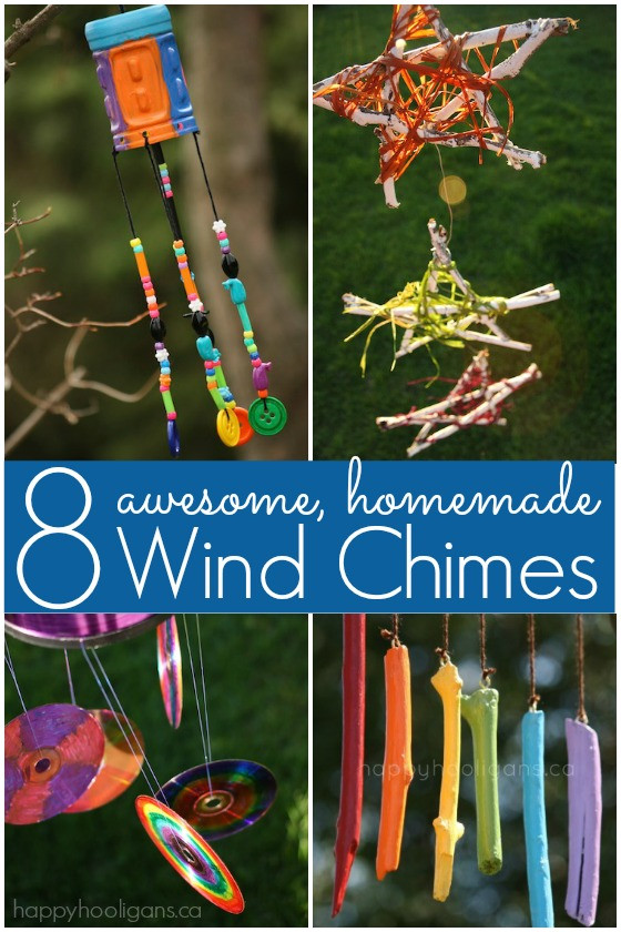 Best ideas about DIY Wind Chimes For Kids . Save or Pin 8 Homemade Wind Chimes for Kids Happy Hooligans Now.
