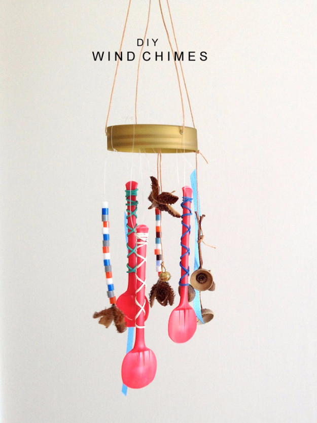 Best ideas about DIY Wind Chimes For Kids . Save or Pin 31 DIY Wind Chimes Now.