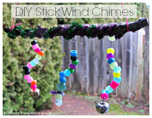Best ideas about DIY Wind Chimes For Kids . Save or Pin DIY Stick Wind Chime for Kids Where Imagination Grows Now.