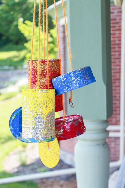 Best ideas about DIY Wind Chimes For Kids . Save or Pin Homemade Wind Chimes the Kids Can Make Now.