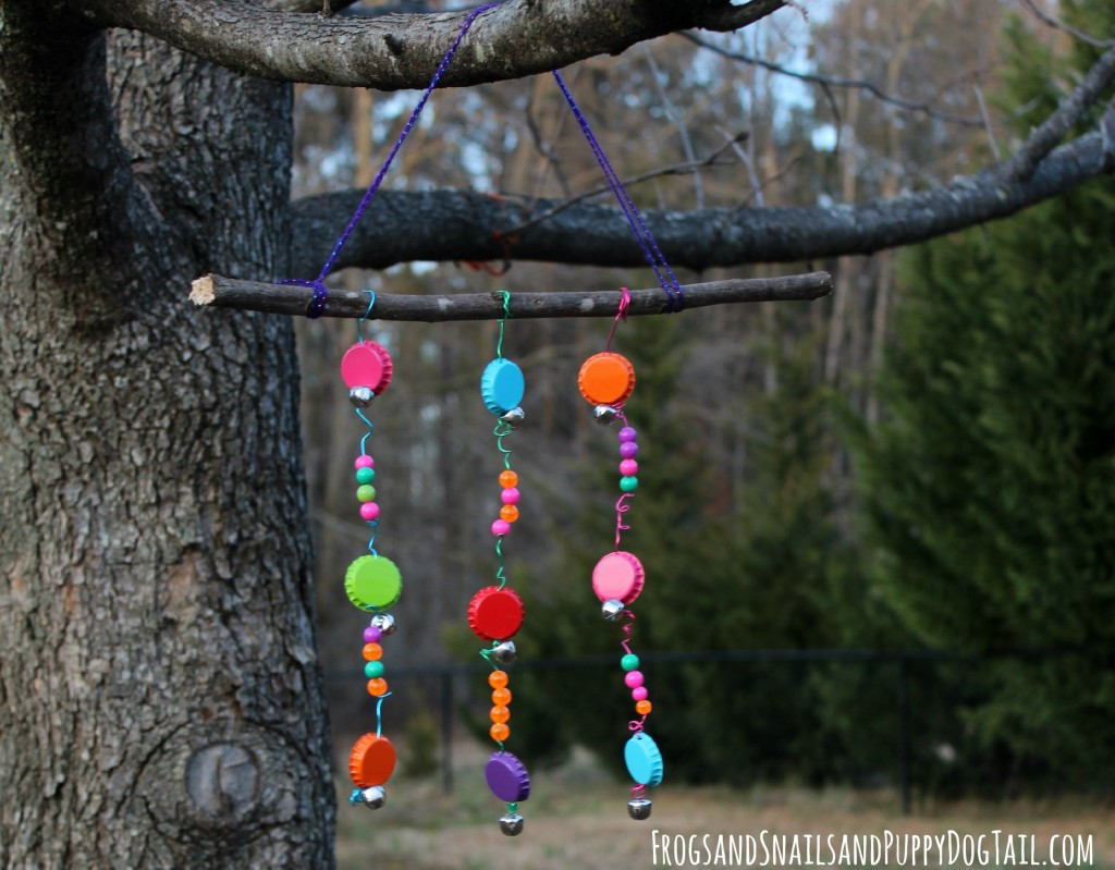 Best ideas about DIY Wind Chimes For Kids . Save or Pin Bottle Cap Wind Chime FSPDT Now.