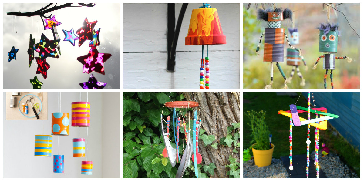 Best ideas about DIY Wind Chimes For Kids . Save or Pin 8 Wind Chime Kids Crafts diy Thought Now.