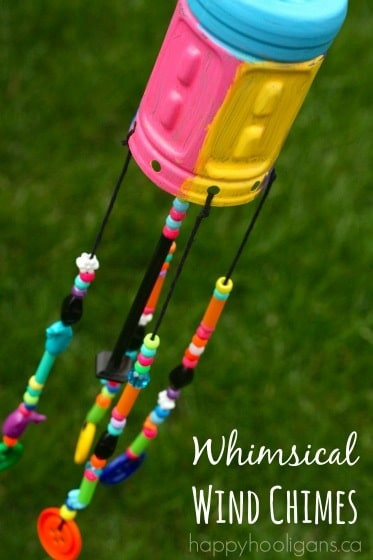 Best ideas about DIY Wind Chimes For Kids . Save or Pin DIY Wind Chimes Gorgeous Recycled Craft for Kids to Make Now.