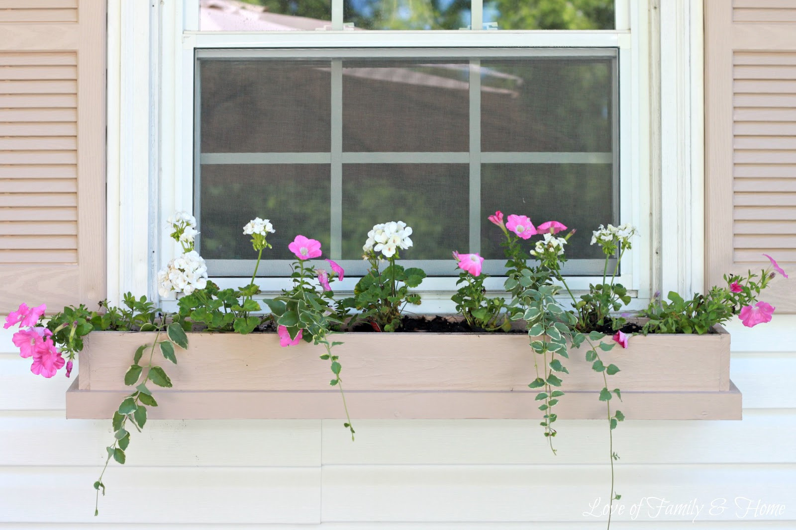 Best ideas about DIY Window Box . Save or Pin Easy & Inexpensive DIY Window Boxes Love of Family & Home Now.