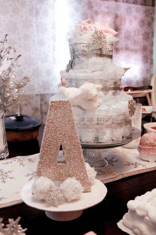Best ideas about DIY Winter Wonderland Baby Shower Decorations . Save or Pin 35 Pretty Winter Baby Shower Ideas Now.