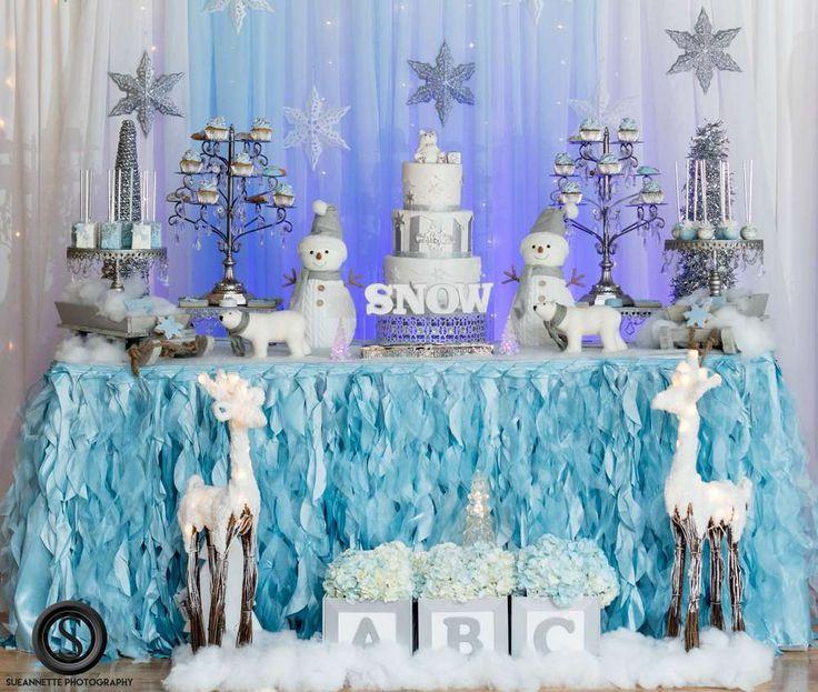 Best ideas about DIY Winter Wonderland Baby Shower Decorations . Save or Pin Best 25 Winter wonderland birthday ideas on Pinterest Now.