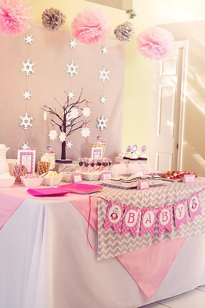 Best ideas about DIY Winter Wonderland Baby Shower Decorations . Save or Pin Diy Winter Wonderland Baby Shower Decorations Now.