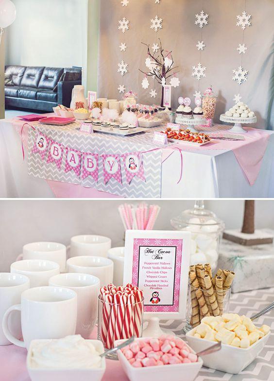 Best ideas about DIY Winter Wonderland Baby Shower Decorations . Save or Pin diy winter wonderland baby shower decorations Google Now.