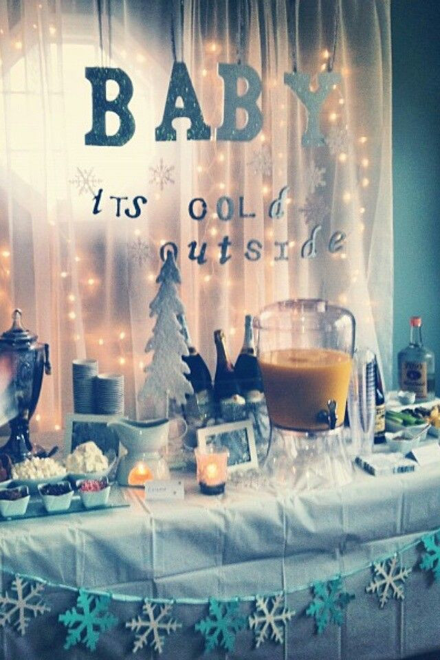 Best ideas about DIY Winter Wonderland Baby Shower Decorations . Save or Pin Christmas & Winter Baby Shower Ideas & Decorations on Now.