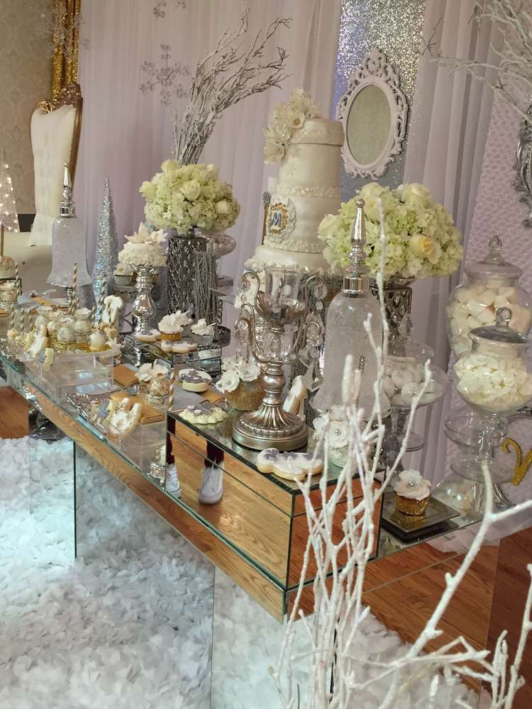 Best ideas about DIY Winter Wonderland Baby Shower Decorations . Save or Pin winter wonderland Baby Shower Party Ideas Now.