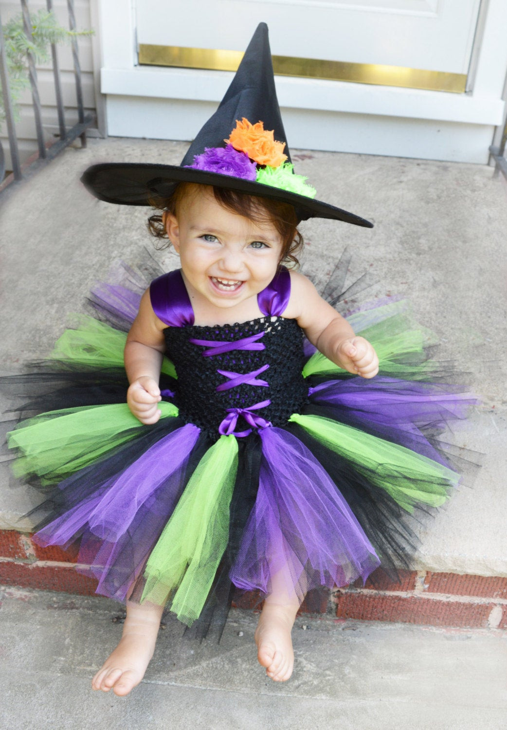 Best ideas about DIY Witch Costume For Kids . Save or Pin Little Witch Costume Witch Tutu Costume Baby Witch Costume Now.