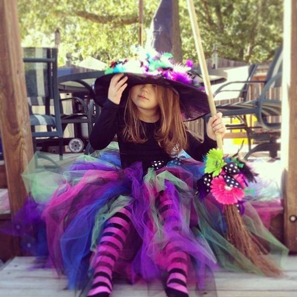 Best ideas about DIY Witch Costume For Kids . Save or Pin Homemade Witch Costume Ideas Now.