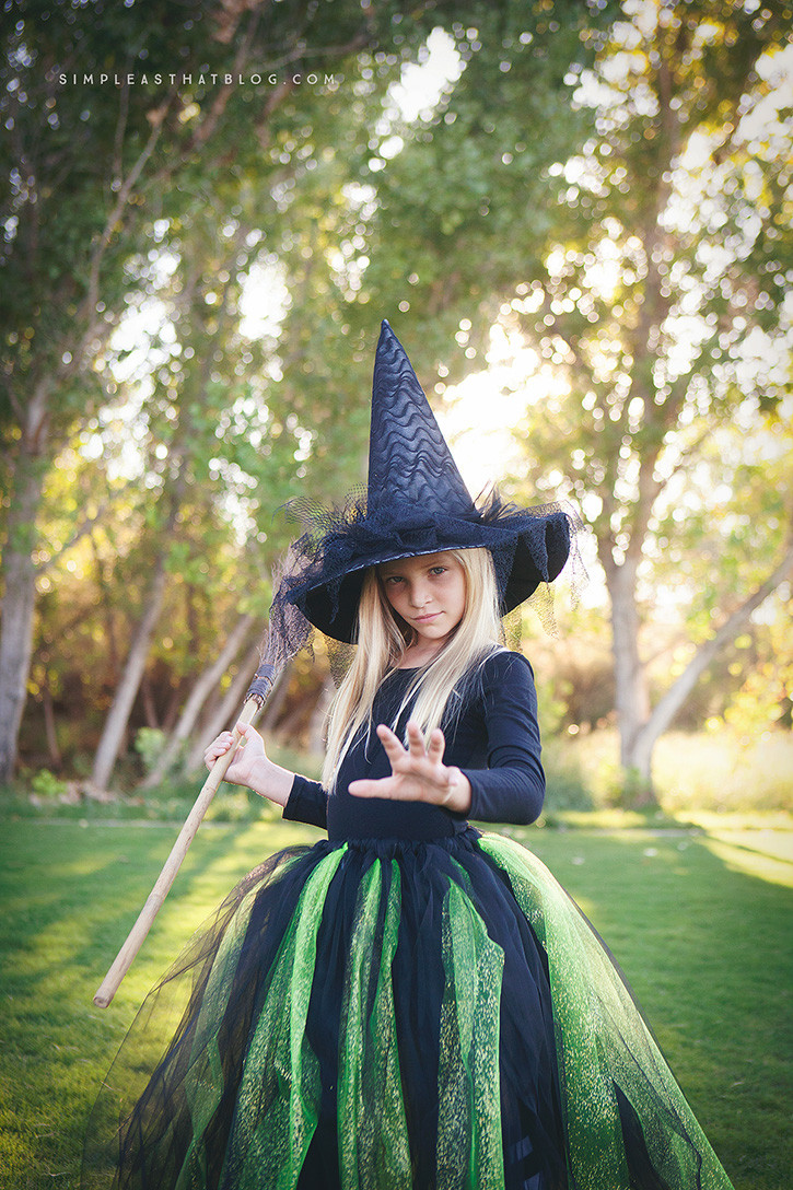 Best ideas about DIY Witch Costume For Kids . Save or Pin DIY Glinda and Wicked Witch of the West Halloween Costumes Now.
