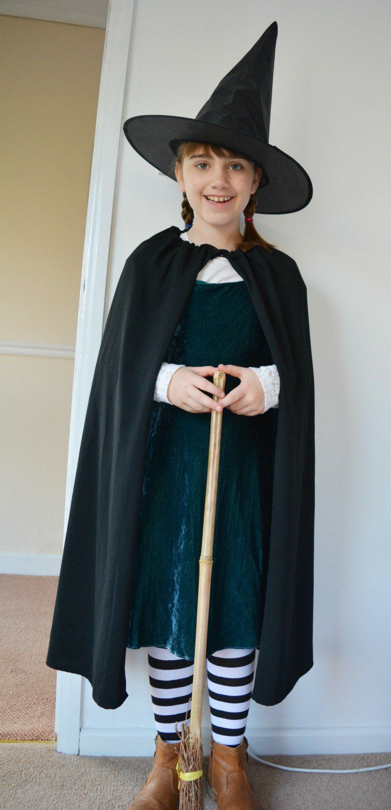 Best ideas about DIY Witch Costume For Kids . Save or Pin Worst Witch Costume DIY Cape Now.