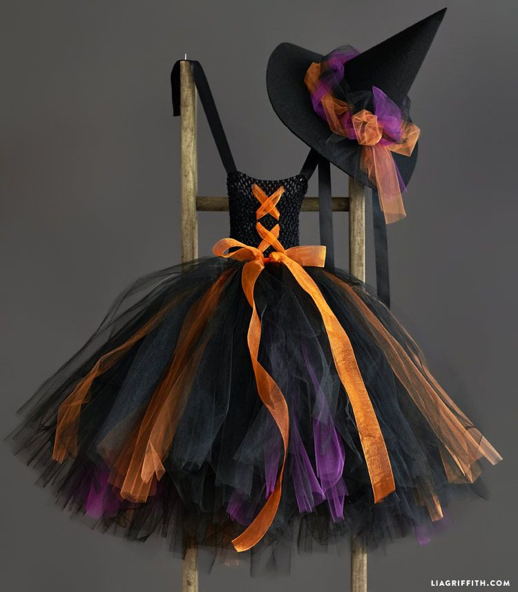 Best ideas about DIY Witch Costume For Kids . Save or Pin Kid s DIY Witch Costume Now.